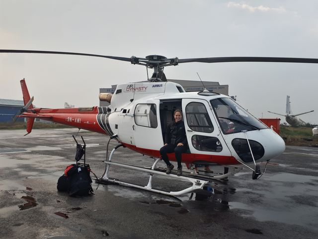 Helicopter tour Everest Base camp $3,750/-