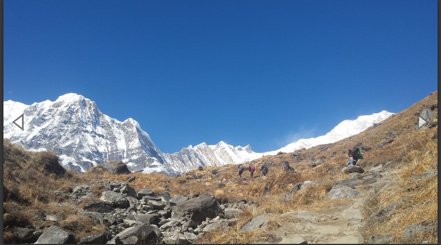 Annapurna Base Camp Trek 13 days $690 per  person