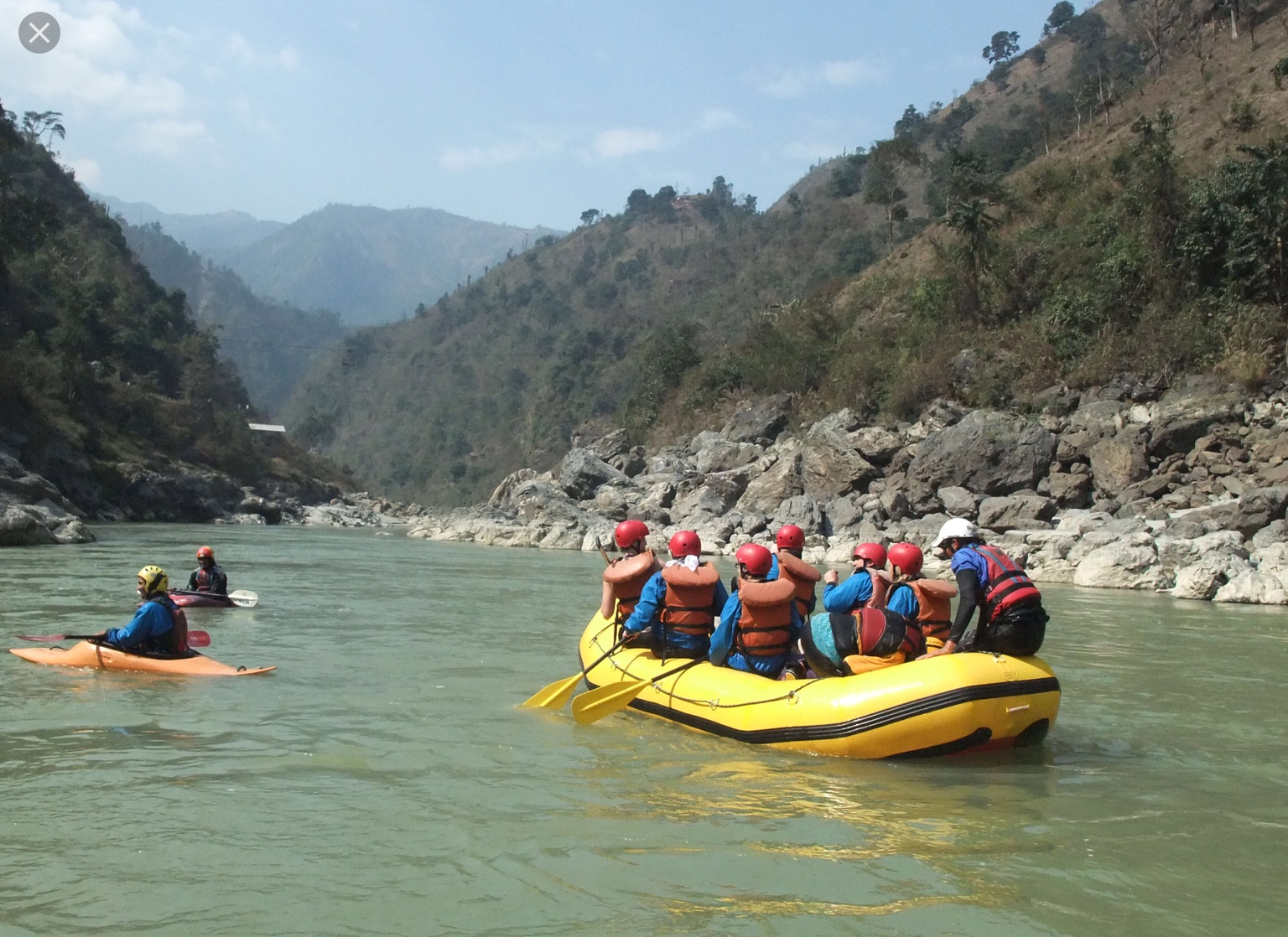 River Rafting one day trip
