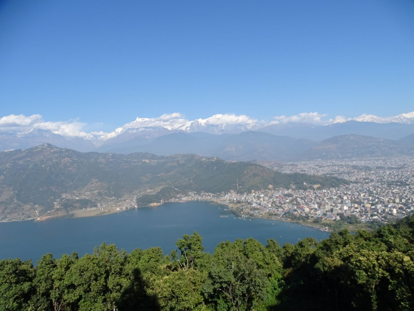 Hiking World Peace Pagoda Pokhara $95/-