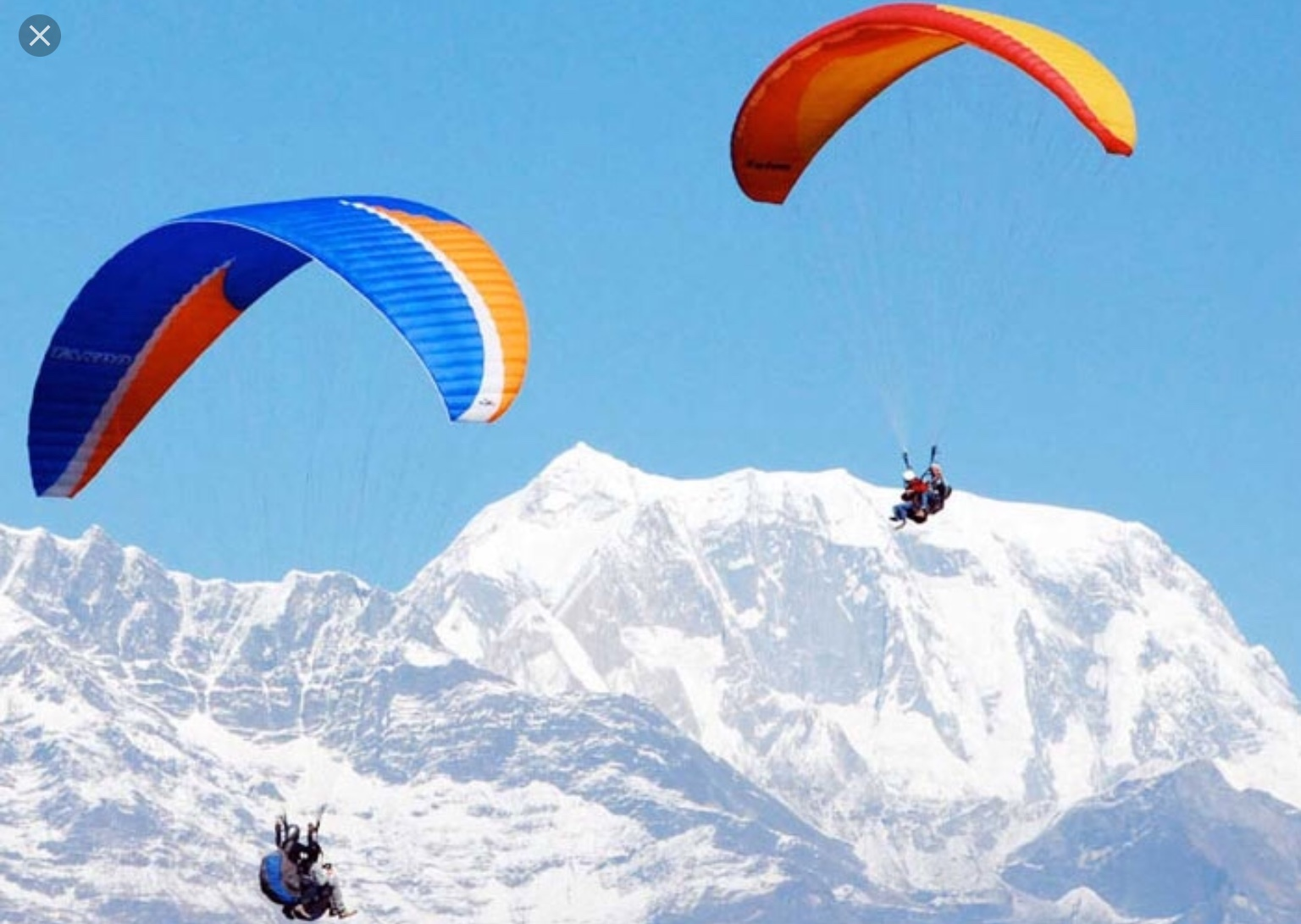 Paragliding in Nepal 95$ per person