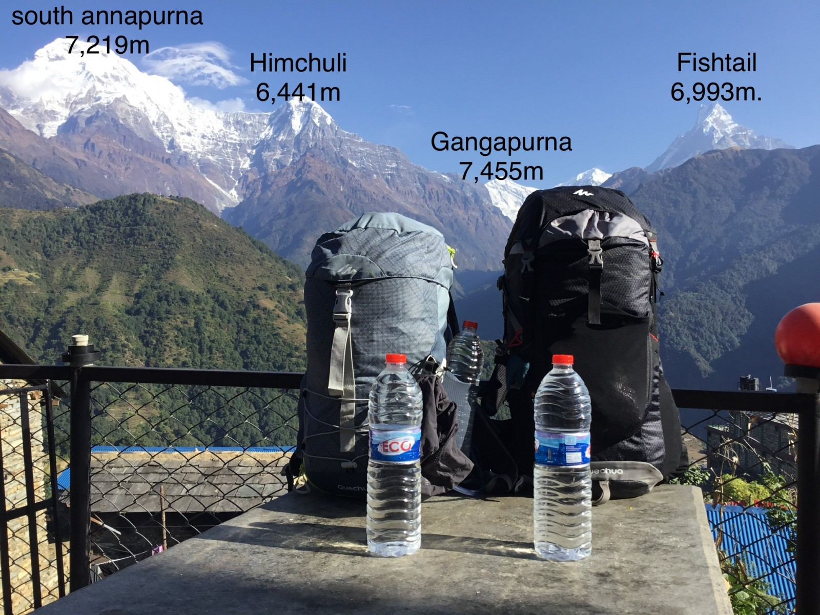 Annapurna Base Camp trek 7 days $605/-