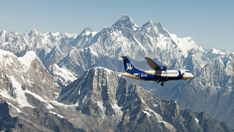 Mountain Flight Everest Region $200/-