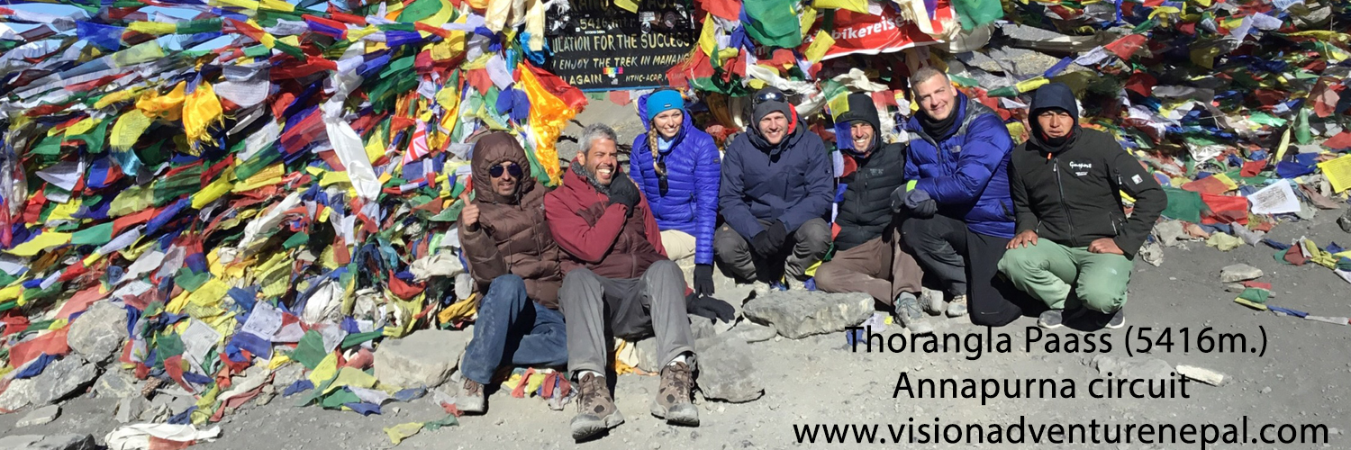 Annapurna Circuit with Tilicho Lake Trek $1500 per person